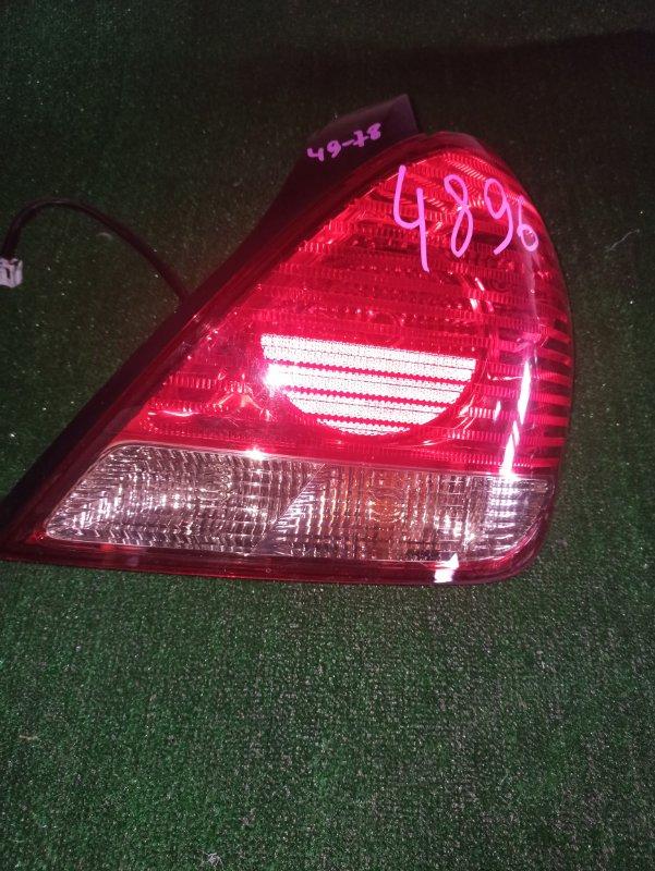 Стоп-сигнал Nissan Bluebird Sylphy QG10 задний правый