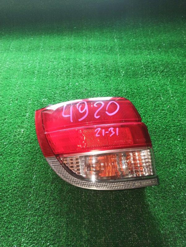 Стоп-сигнал Toyota Caldina AT191 задний левый