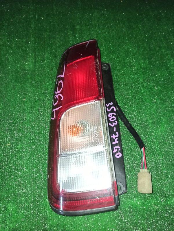Стоп-сигнал Suzuki Kei HN22 задний левый