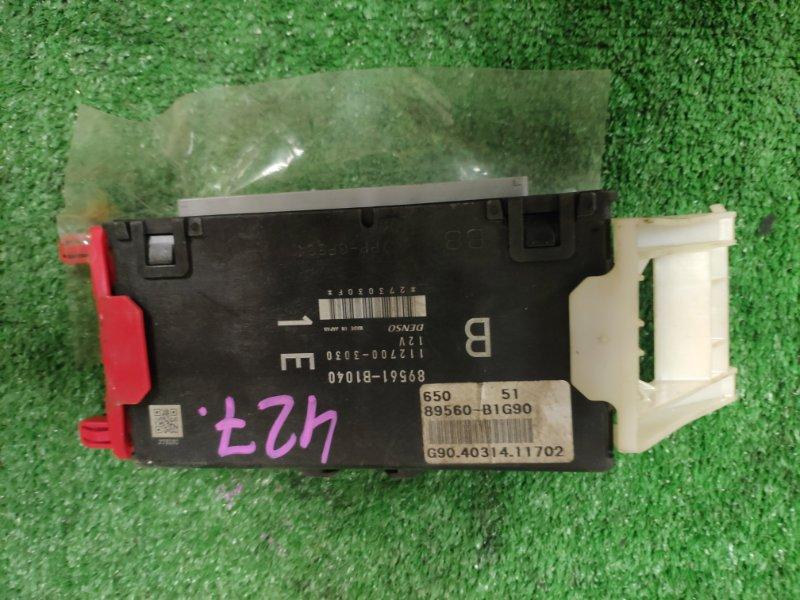 Блок управления efi Toyota Passo KGC30 1KR