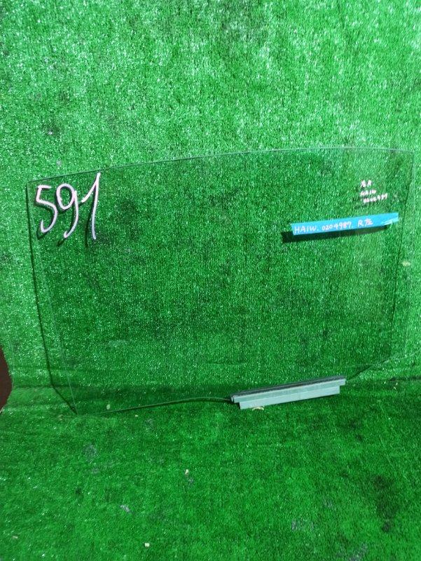 Стекло двери Mitsubishi I HA1 заднее правое
