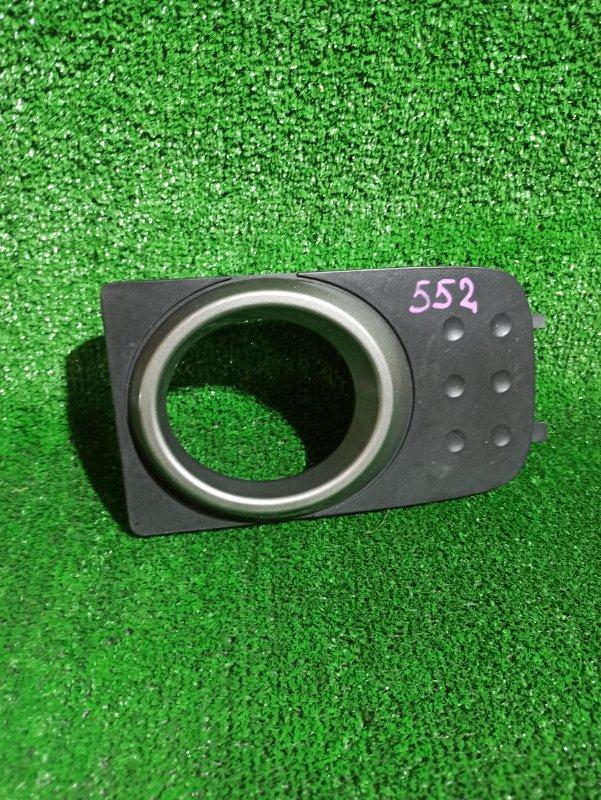 Заглушка бампера Nissan Cube YGZ11 передняя левая