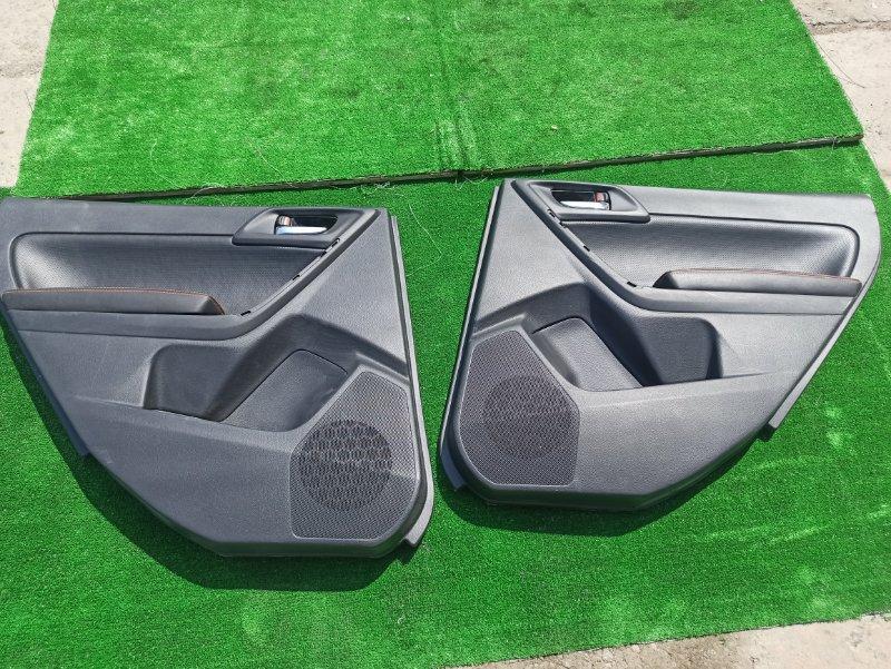 Обшивка дверей Subaru Forester SJ5 задняя