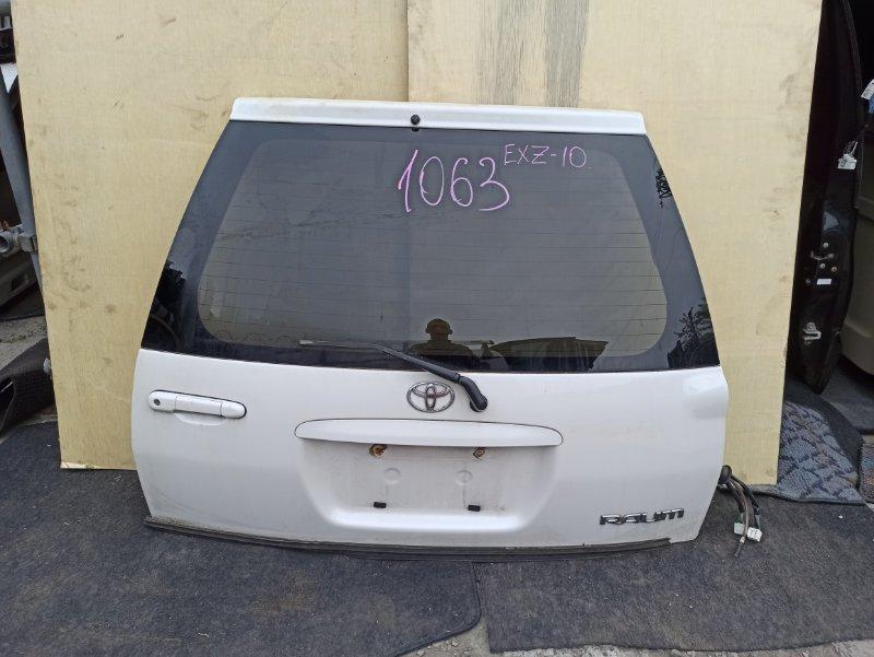 Дверь задняя Toyota Raum EXZ10