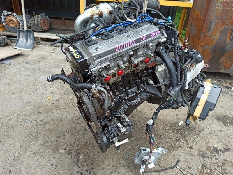 Двигатель Toyota Raum EXZ15 5E-FE