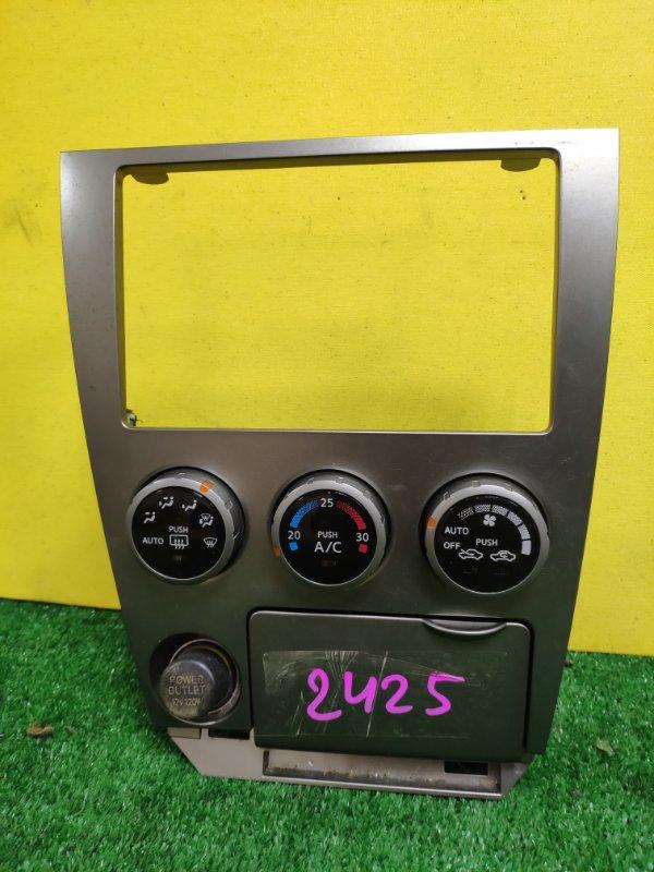 Блок управления климат-контролем Nissan Wingroad WFY11 QG15
