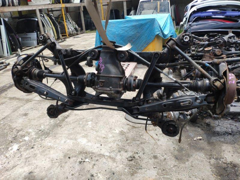 Балка подвески Toyota Brevis JCG11 2JZ-FSE задняя