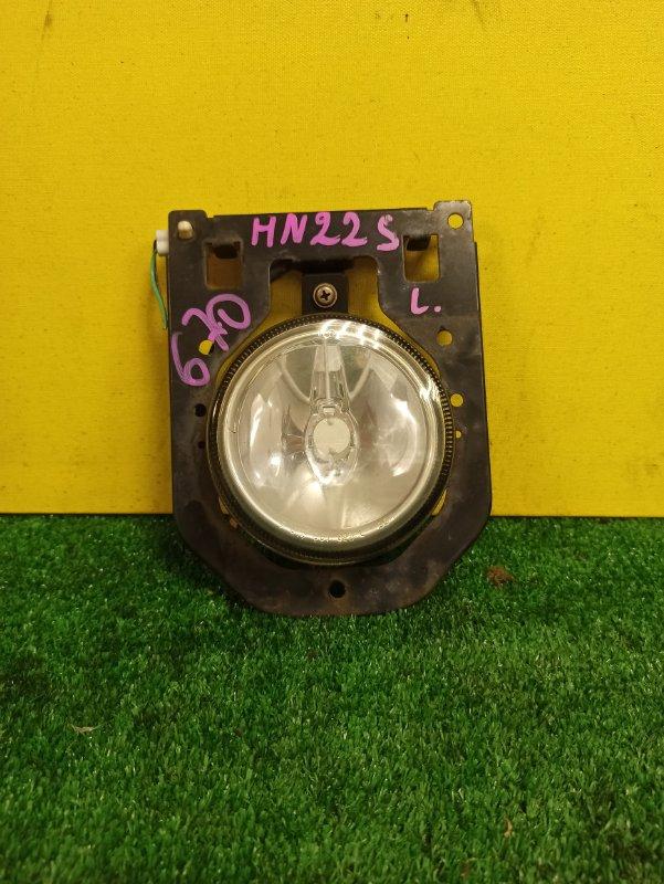Туманка Suzuki Wagon R HN22S левая
