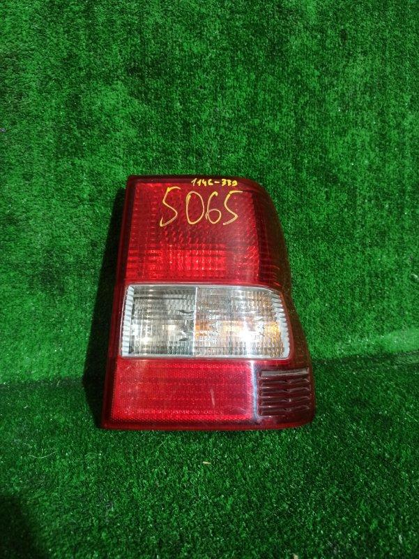 Стоп-сигнал Mitsubishi Pajero Io H77W 4G94 задний правый