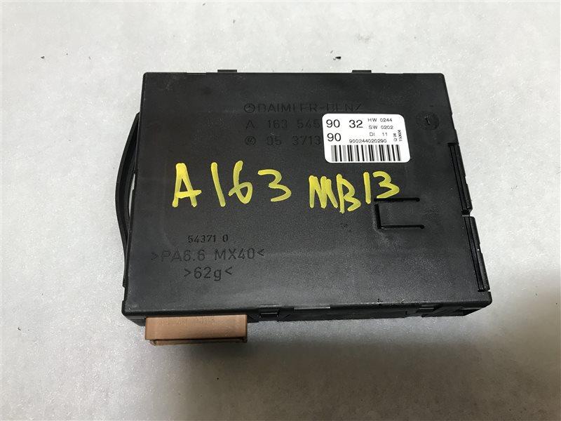 Блок управления eam Mercedes-Benz M-Class W163 W163 112.970 2004