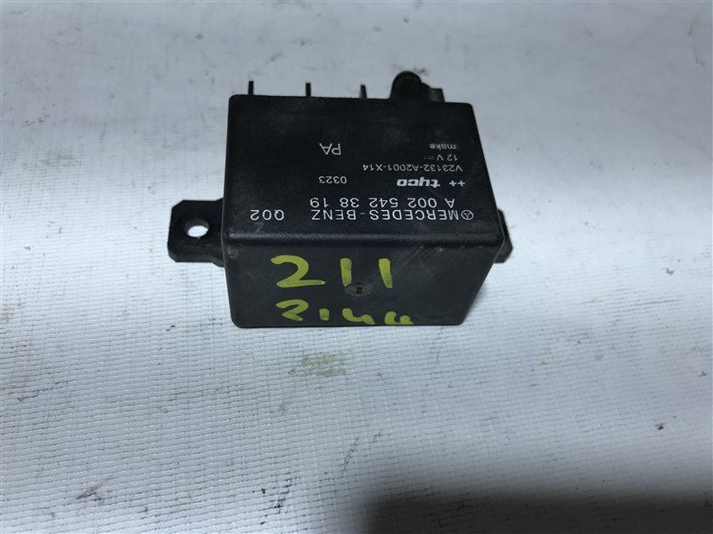 Блок управления зарядом акб Mercedes-Benz E-Class W211 W211 2005
