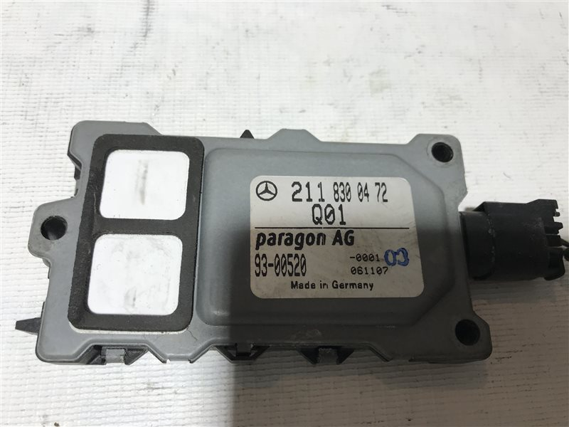 Датчик загрязнения воздуха Mercedes-Benz E-Class W211 W211 642.920 2006