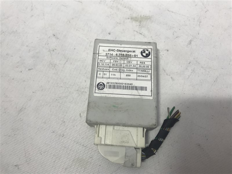 Эбу системы подачи воздуха Bmw 7-Series E65 N62B48B 2007