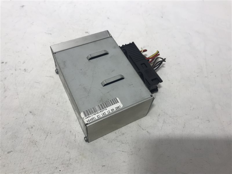 Усилитель аудио Bmw 7-Series E65 N62B40A 2007