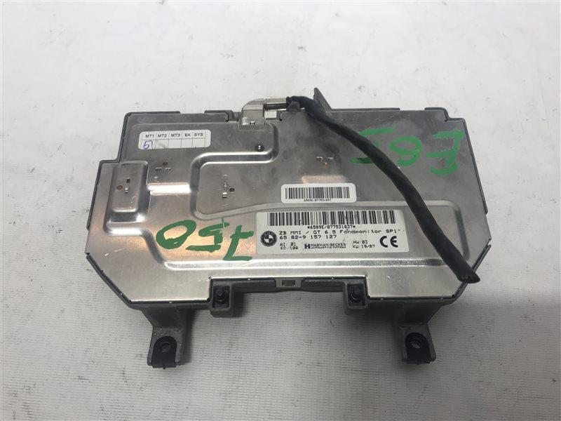 Эбу монитора Bmw 7-Series E65 N62B48B 2007