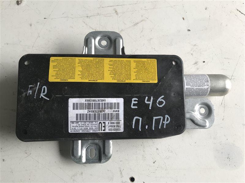 Подушка безопасности двери Bmw 318I E46 N46B20A 2004 передняя правая
