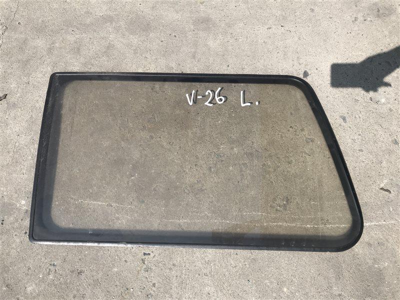 Стекло Mitsubishi Pajero V26 4M40 1993 заднее левое