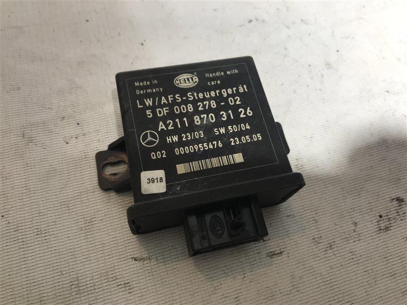 Блок управления регулировки фар Mercedes-Benz E-Class W211 W211 113.967 2005