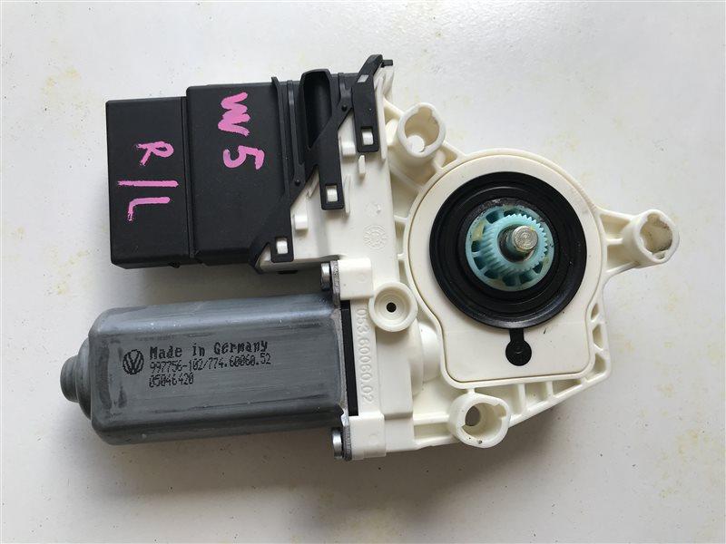 Мотор стеклоподъемника Volkswagen Golf 5 BVY 2006 задний левый