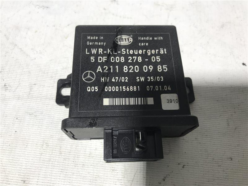 Блок управления регулировки фар Mercedes-Benz E-Class W211 W211 112.949 2004