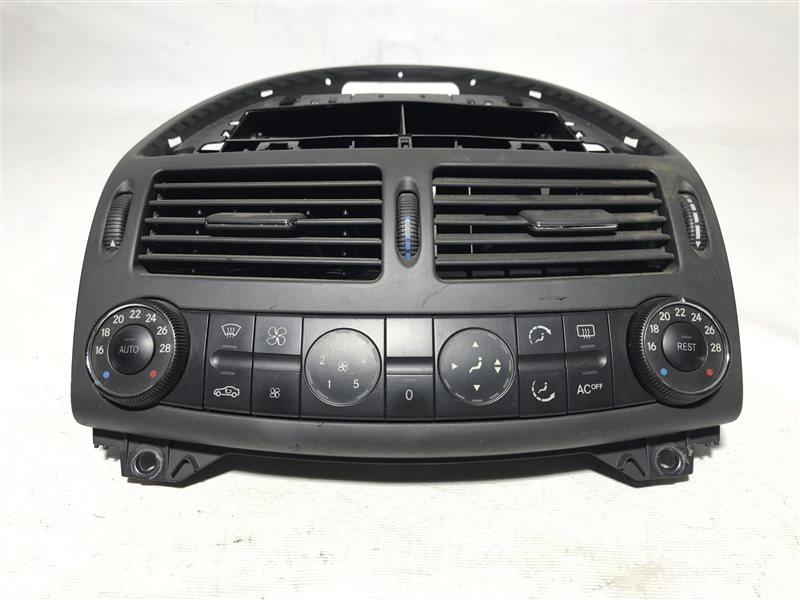 Блок управления климат-контролем Mercedes-Benz E-Class W211 W211 112.949 2004
