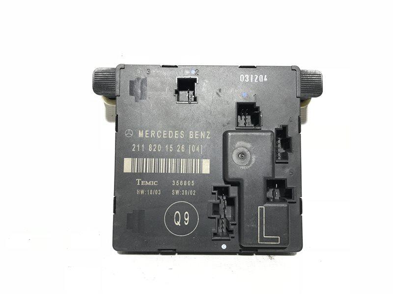 Блок управления дверьми Mercedes-Benz E-Class W211 W211 112.949 2004 задний левый
