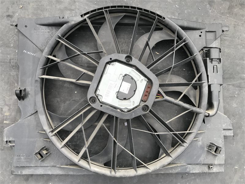 Вентилятор радиатора Mercedes-Benz E-Class W211 W211 272.964 2007