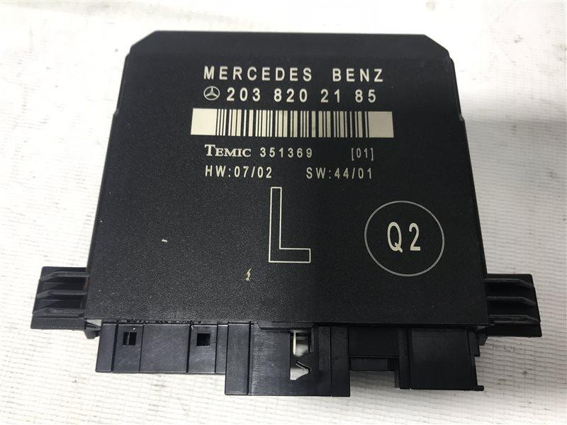 Блок управления дверьми Mercedes-Benz C-Class W203 W203 111.955 2002 задний левый