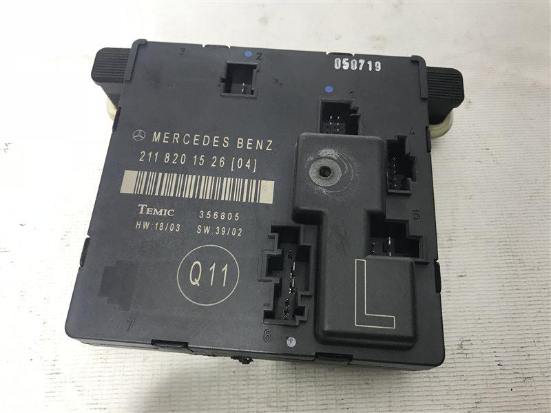 Блок управления дверьми Mercedes-Benz E-Class W211 W211 272.964 2005 задний левый