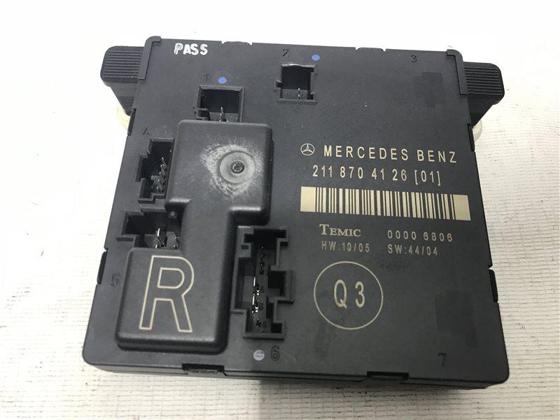 Блок управления дверьми Mercedes-Benz E-Class W211 W211 642.920 2006 задний правый