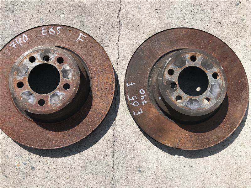 Тормозной диск Bmw 7-Series E65 N62B40A 2007 передний