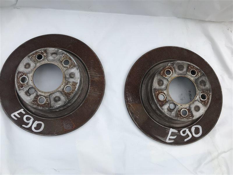 Тормозной диск Bmw 3-Series E90 N46B20 2005 задний