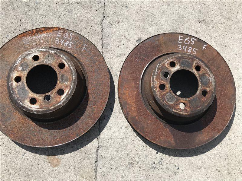 Тормозной диск Bmw 7-Series E65 N62B48B 2007 передний