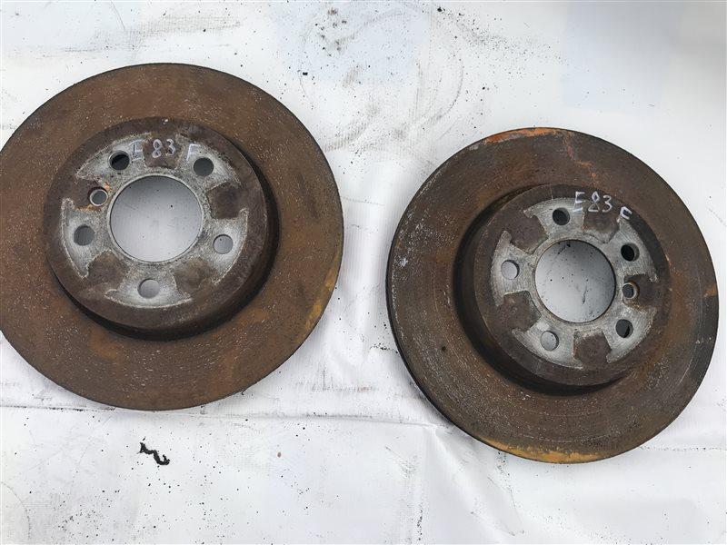 Тормозной диск Bmw X3 E83 M54B25 2005 передний
