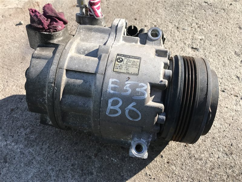 Компрессор кондиционера Bmw X5 E53 M54B30 2005