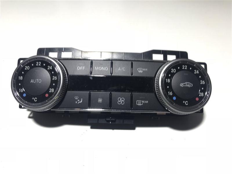 Блок управления климат-контролем Mercedes-Benz C-Class W204 W204 272.921 2008