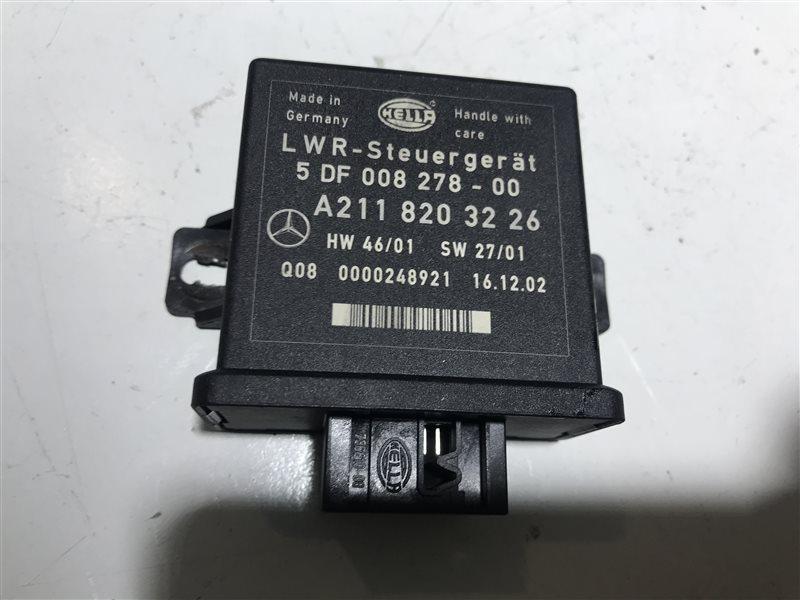 Блок управления регулировки фар Mercedes-Benz E-Class W211 W211 112.949 2003