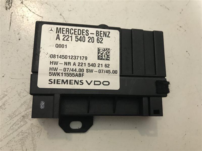 Блок управления топливный насосом Mercedes-Benz C-Class W204 W204 272.921 2008