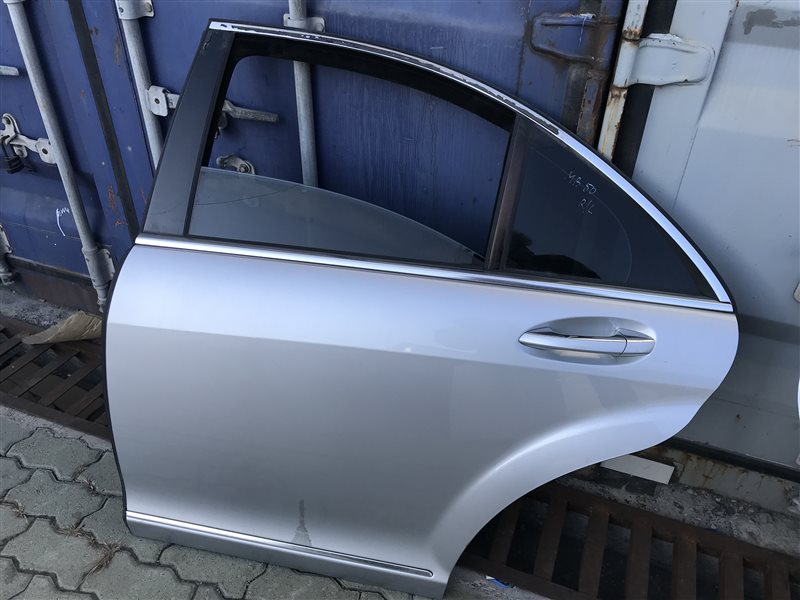 Дверь Mercedes-Benz S-Class W221 W221 272.965 2006 задняя левая