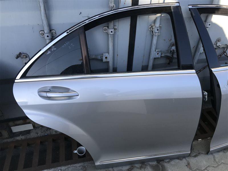 Дверь Mercedes-Benz S-Class W221 W221 272.965 2006 задняя правая