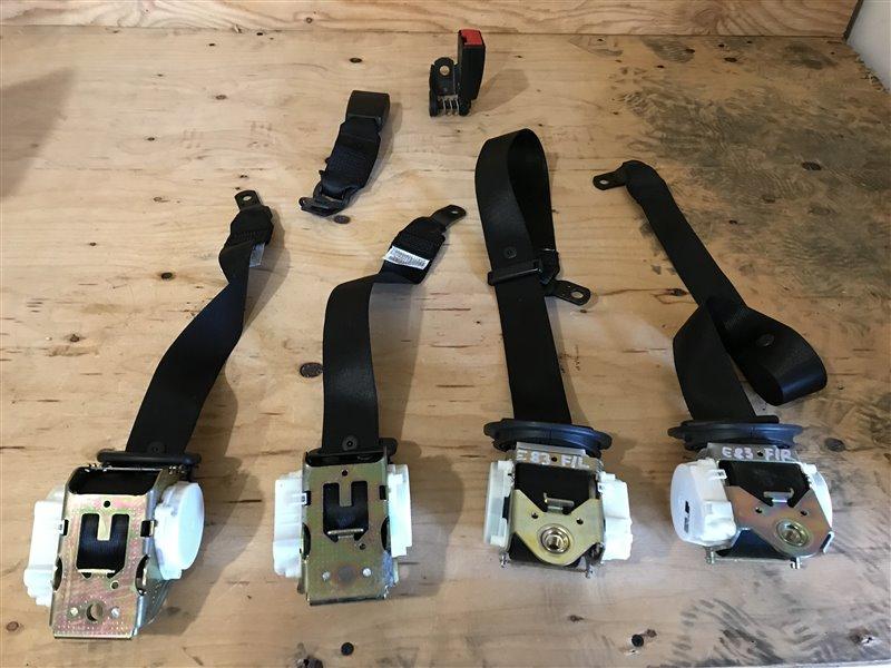 Комплект ремней безопасности Bmw X3 E83 M54B25 2005