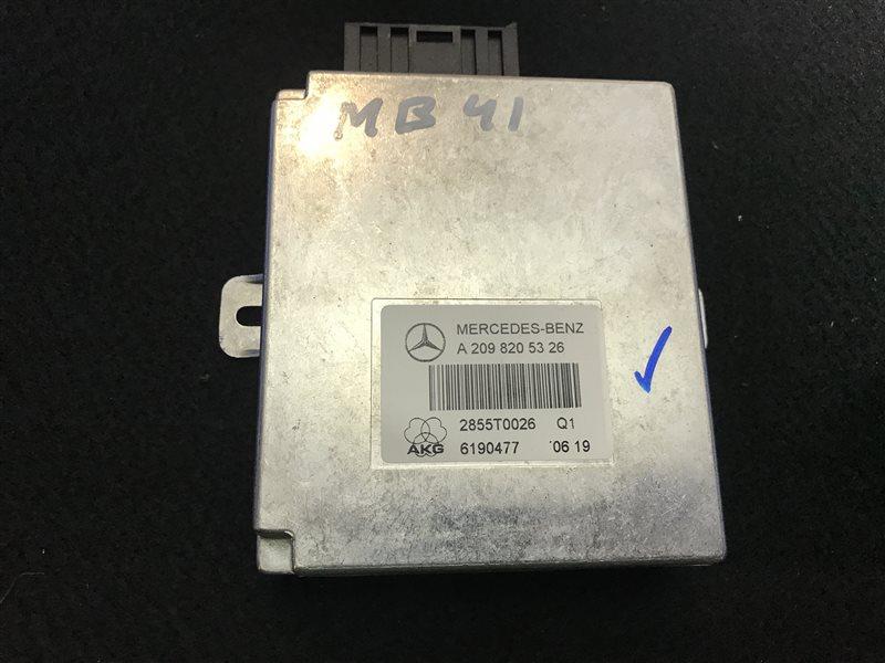 Блок управления Mercedes-Benz Cls-Class W219 W219 C219 273960 2006