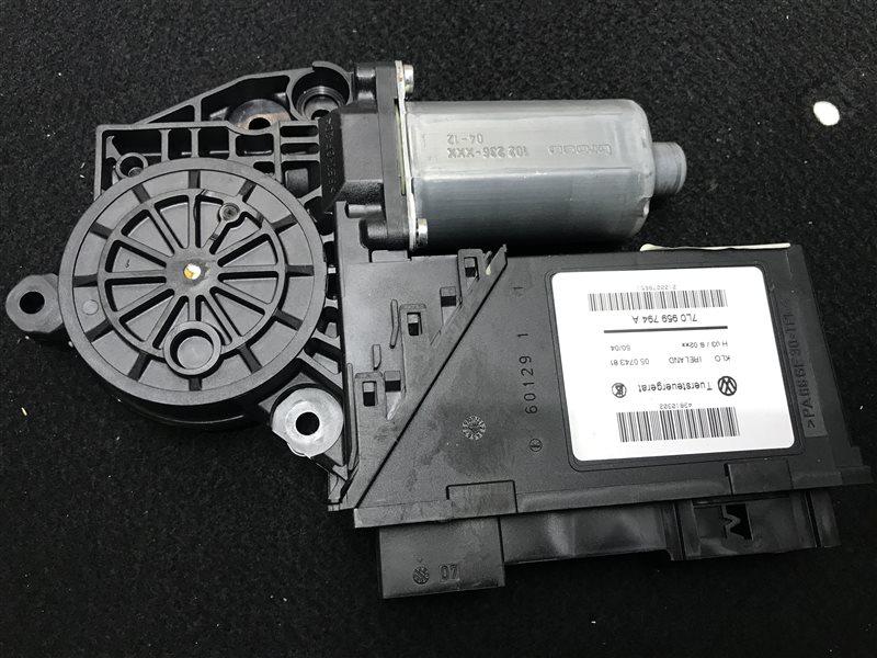 Мотор стеклоподъемника Volkswagen Touareg 7L BMV 2005 задний правый