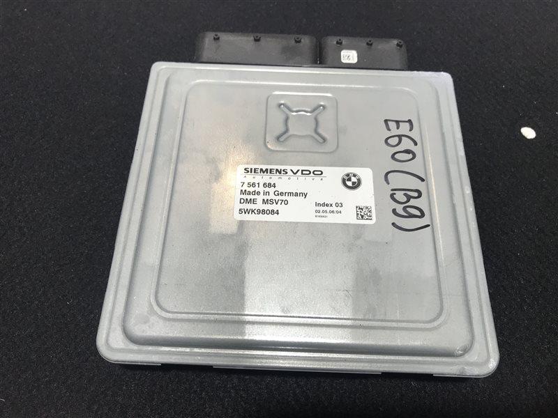 Блок управления двс Bmw 5-Series E60 N52B25A 2006