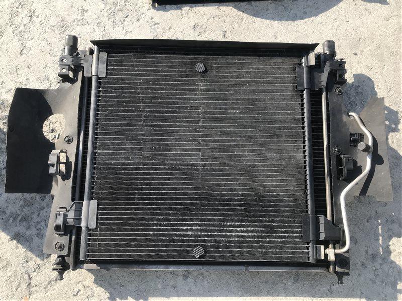 Радиатор двс Mercedes-Benz M-Class W163 W163 612.963 2002