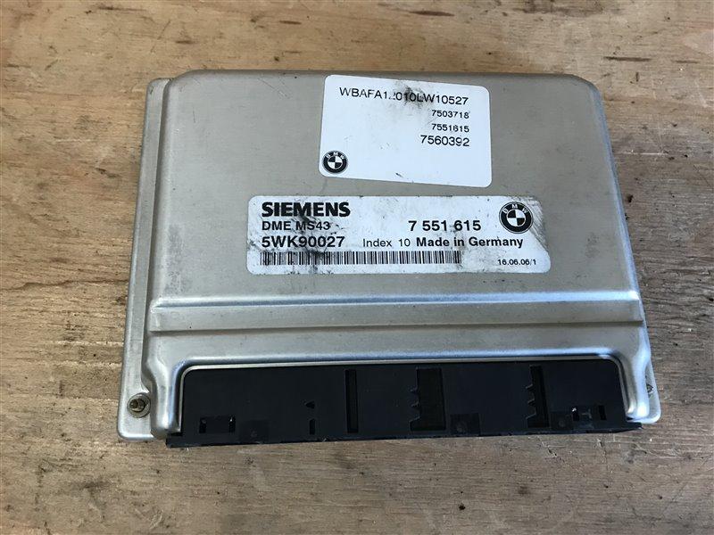 Блок управления двс Bmw X5 E53 M54B30 2006