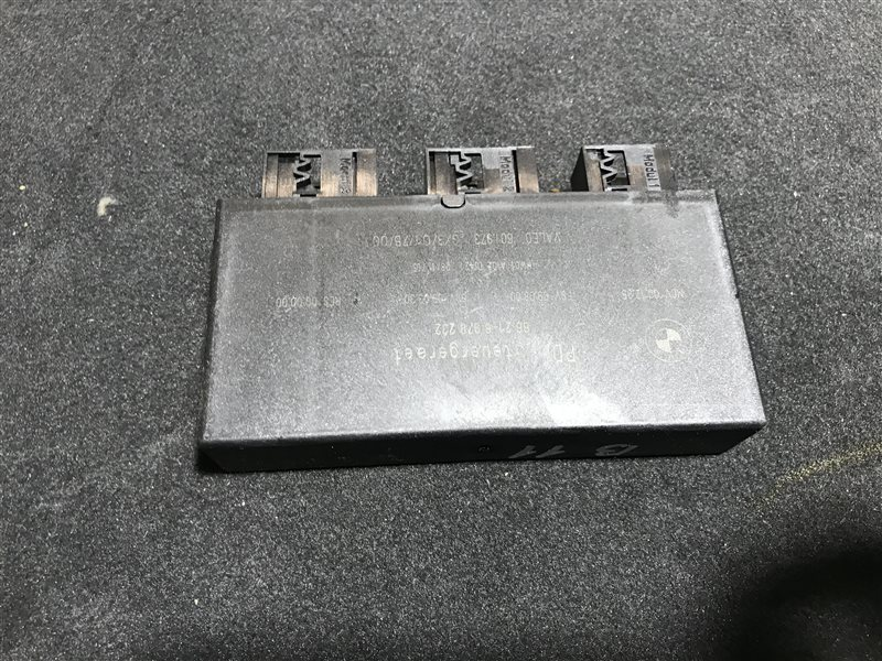 Блок управления парктроником Bmw 7-Series E65 N62B48B 2006