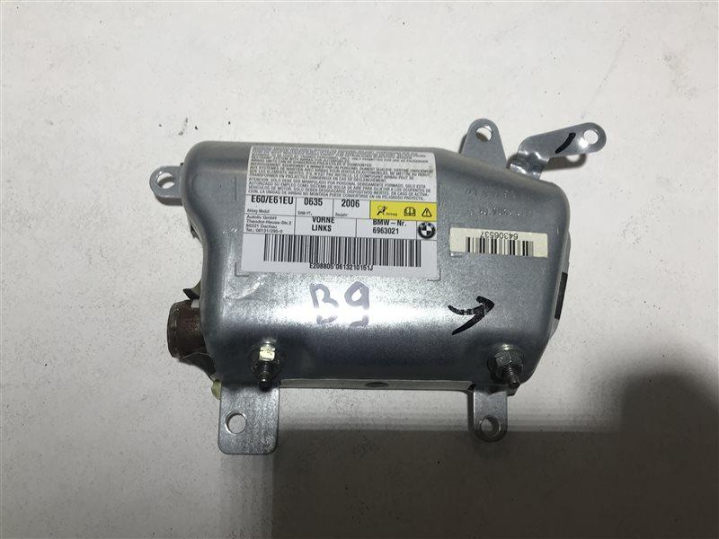 Подушка безопасности двери Bmw 5-Series E60 N52B25A 2006 передняя левая