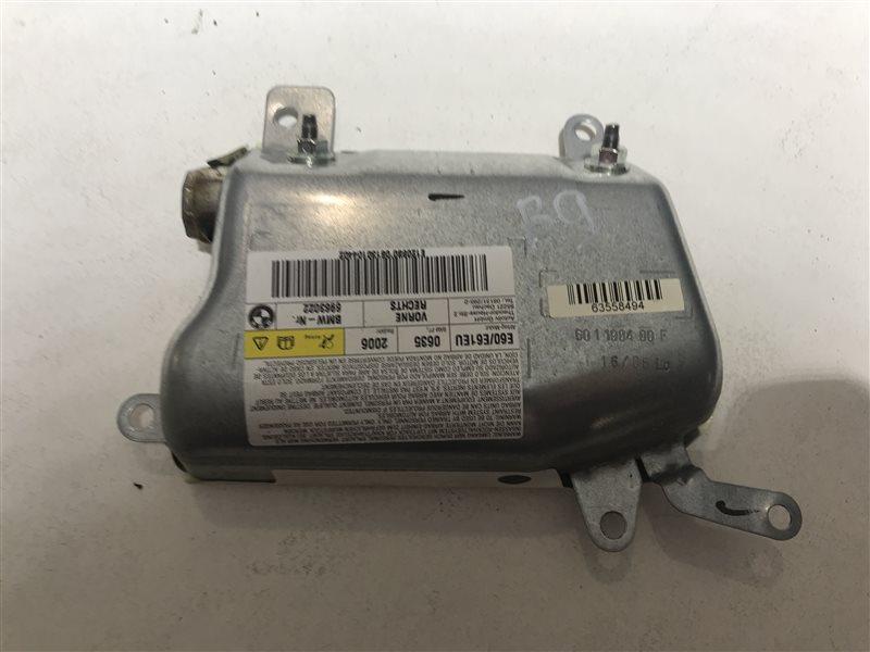 Подушка безопасности двери Bmw 5-Series E60 N52B25A 2006 передняя правая