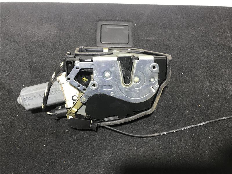 Замок двери Bmw 7-Series E65 N62B48B 2006 передний левый